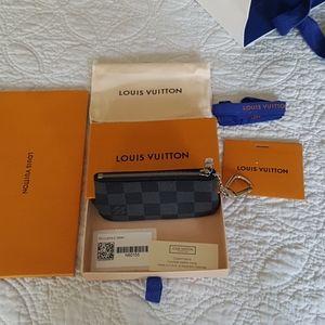 Louis Vuitton Pochette Cle Damier Graphite